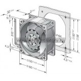 Вентилятор компактный EBMPAPST 612JH (60x60)