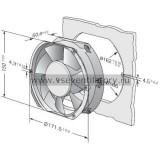 Вентилятор компактный EBMPAPST 6412M (172x150)