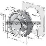 Вентилятор компактный EBMPAPST DV6224