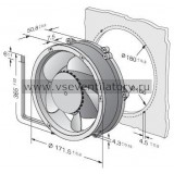 Вентилятор компактный EBMPAPST DV6200TD