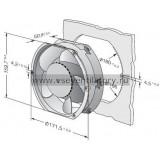 Вентилятор компактный EBMPAPST DV6424TD (172x160)