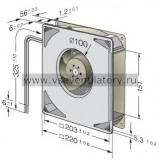 Вентилятор компактный EBMPAPST RG160-28/14NM