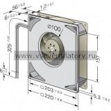 Вентилятор компактный EBMPAPST RG160-28/14NTD
