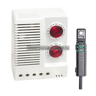 Электронный прибор STEGO Hygrotherm ETF 012, Вынос. датчик, 1м, DC 24-48В, 0+60C, 50-90% отн.вл.