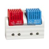 Термостат STEGO FTD 011 сдвоенный с фикс. уставками NC/NC 50 °C/ 60 °C