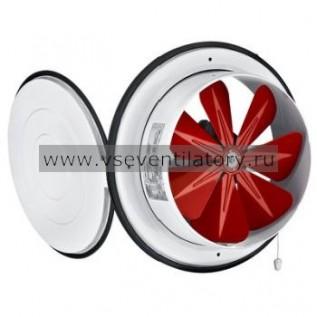 Вентилятор осевой Bahcivan BK 200 вытяжной с крышкой
