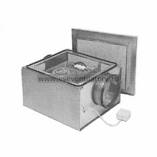Вентилятор канальный круглый (в изолированном корпусе) Ostberg IRE 160 D
