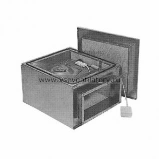 Вентилятор канальный прямоугольный Ostberg IRE 80x50 C
