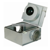 Вентилятор канальный круглый (в изолированном корпусе) Systemair KVO 100