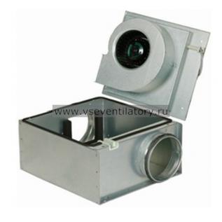 Вентилятор канальный круглый (в изолированном корпусе) Systemair KVO 160